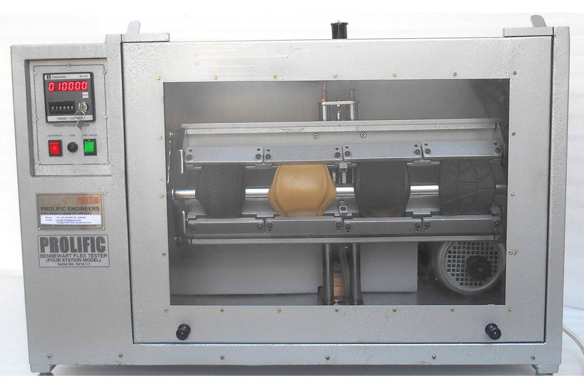 Bennewart Flex Testing Machine